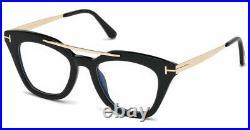 Tom Ford FT0575-001 Women's 49 Demo Lens Glasses