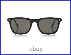 Tom Ford FT0625 625 Arnaud-02 01D Black Grey Polarized Men Small 53mm Sunglasses