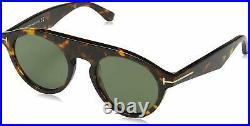Tom Ford FT0633-52A Unisex 49 Smoke Lens Sunglasses