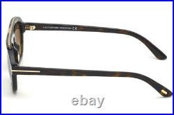 Tom Ford FT0736 52K Havana Rectangle Sunglasses