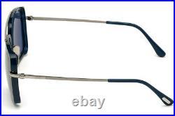 Tom Ford FT0750-F 90V Blue Rectangle Lionel Sunglasses