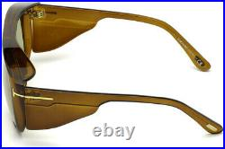 Tom Ford FT0799 48N Brown Modified Rectangle Sunglasses