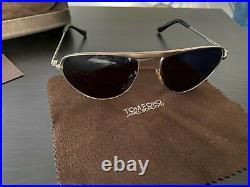 Tom Ford FT108 19v James Bond Quantum of Solace Steel Blue Sunglasses
