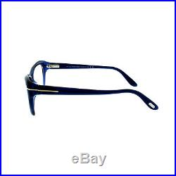 Tom Ford FT5376 090 Blue Women's Full Rim Cat Eye Frame