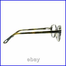Tom Ford FT5409 055 Tortoise Full Rim Round Unisex Optical Frames Eyeglasses