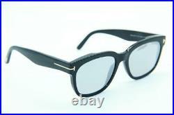 Tom Ford Ft 714 01c Black Authentic Sunglasses Ft714 55-18