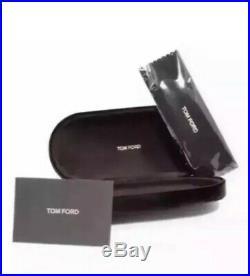 Tom Ford Garett TF 538 01V FT0538 Black Frame Blue Lens Men Women Sunglasses New