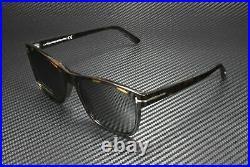 Tom Ford Giulio FT0698 52D Shiny Dk Havana Smoke Polarized 59mm Men's Sunglasses