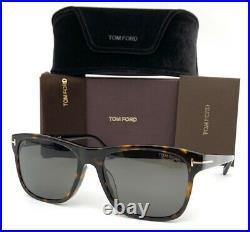 Tom Ford Giulio FT698 52D Dark Tortoise / Gray Polarized 59mm Sunglasses TF0698