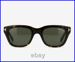 Tom Ford Green Snowdon TF237 FT0237 05B 52MM Sunglasses