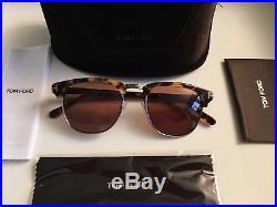 Tom Ford Henry Havana Patterned Mens Sunglasses Never Worn