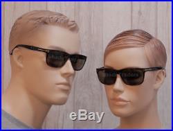 Tom Ford Hugh Sunglasses Shiny Dark Havana Torte Brown Ft 0337 56j Made In Italy