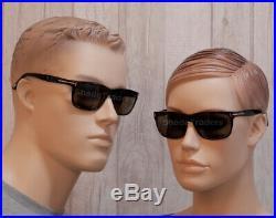 Tom Ford Hugh Sunglasses Shiny Dark Havana Torte Roviex Brown Ft 0337 56j