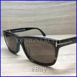 Tom Ford Hugh TF337 337 Sunglasses Havana Gold 56J Authentic 55mm