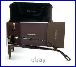 Tom Ford IAN FT0591 52N Havana / Green 51mm Sunglasses TF0591