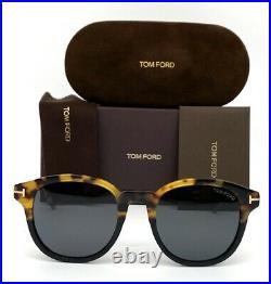 Tom Ford Jameson FT0752 56A Havana / Smoke 52mm Sunglasses TF0752