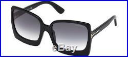 Tom Ford KATRINE-02 FT 0617 black/grey shaded (01B A) Sunglasses