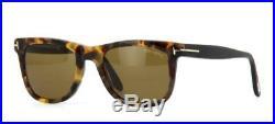 Tom Ford Leo TF 9336 55J Tortoise Havana Sunglasses Sonnenbrille Brown Lens 52mm