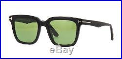 Tom Ford MARCO-02 FT 0646 Black/Green (01N) Sunglasses