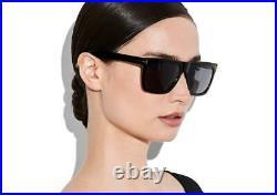 Tom Ford MORGAN TF 513 01W Black Shades Sonnenbrille Women's Sunglasses Size 57
