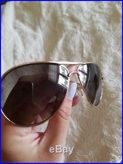 Tom Ford Marko Aviator POLARIZED Sunglasses -James Bond- TF144 Black & Rose Gold