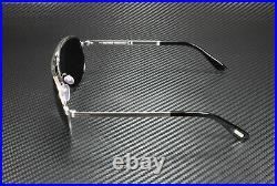 Tom Ford Marko FT0144 18V Shiny Rhodium Blue 58 mm Men's Sunglasses