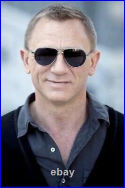 Tom Ford/ Marko FT0144 TF 144 18V Silver Blue Men James Bond Skyfall Sunglasses