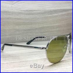 Tom Ford Marko TF144 144 Sunglasses Palladium Black 18N TFL Authentic 58mm