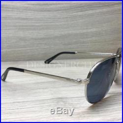 Tom Ford Marko TF144 144 Sunglasses Palladium Black 18V Authentic 58mm