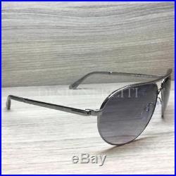 b1915106dc Tom Ford Marko TF144 144 Sunglasses Ruthenium Opal Grey 08B Authentic 58mm