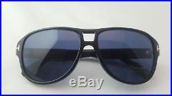 Tom Ford Men's Dylan Tf 446 01v Black Aviator Sunglasses Made In Italy