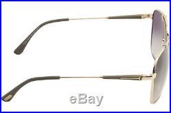 Tom Ford Men's Edward TF377 TF/377 28K Rose Gold Fashion Pilot Sunglasses 58mm