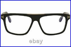 Tom Ford Men's Eyeglasses Cecilio-02 TF628 TF/628 001 Black Optical Frame 57mm