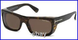 Tom Ford Men's FT0440-52K-56 Toby 56mm Dark Havana Sunglasses
