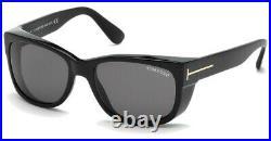 Tom Ford Men's FT0441-01A-56 Carson 56mm Shiny Black Sunglasses