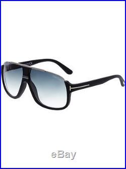 Tom Ford Men's Gradient Elliot FT0335-02W-60 Black Aviator Sunglasses