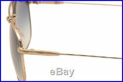 e6ba44aa782bf Tom Ford Men s Marlon TF339 TF 339 28W Rose Gold Black Sunglasses 57mm