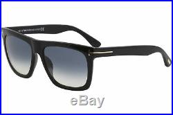 Tom Ford Men's Morgan TF513 TF/513 01W Black Fashion Square Sunglasses 60mm