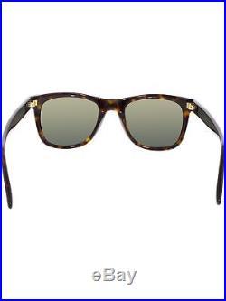 Tom Ford Men's Polarized Leo FT0336-56R-52 Tortoiseshell Square Sunglasses