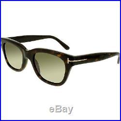 Tom Ford Men's Snowdon FT0237-52N-52 Brown Square Sunglasses