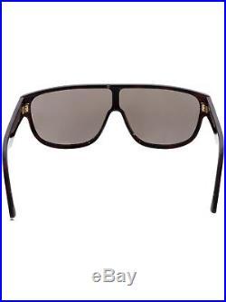 Tom Ford Men's Wagner FT0292-52J-64 Brown Shield Sunglasses