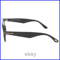 Tom Ford Mens Christopher Black Non-Polarized Round Sunglasses O/S BHFO 7658