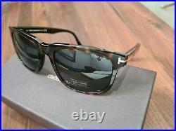 Tom Ford Mens Stephenson Sunglasses. Shiny Classic Dark Havana 52A