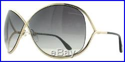 Tom Ford Miranda Sunglasses Brand New Black & Gold