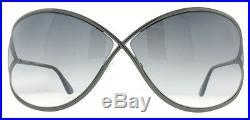 Tom Ford Miranda TF 130 08B Gunmetal Women's Soft Square Sunglasses