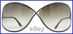 Tom Ford Miranda TF130 36F Bronze TF130 Womens Soft Square Sunglasses