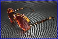 Tom Ford Neughman FT0882 54S Transp Red Honey Havana Orange 60 Men's Sunglasses
