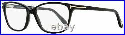 Tom Ford Oval Eyeglasses TF5293 001 Black 54mm FT5293