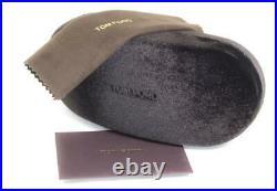 Tom Ford Oval Eyeglasses TF5388 001 Shiny Black 54mm FT5388
