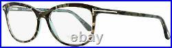 Tom Ford Oval Eyeglasses TF5388 056 Turquoise Havana 54mm FT5388